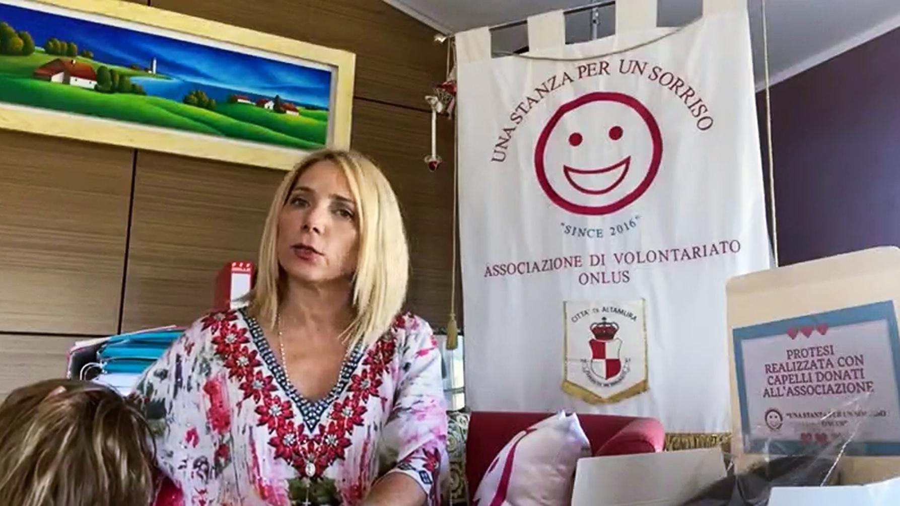 """Rosanna Galantucci, presidente di """"Una stanza per un sorriso"""", a proposito di """"Che doni ti hanno fatto?"""""""